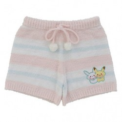 Short Wool Pikachu and Snowman japan plush