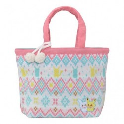 Bag Wool Pikachu and Snowman japan plush