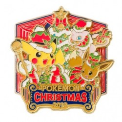 Pokemon Logo Pin's Christmas 2018 japan plush