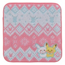 Hand Towel Wool Pikachu and Snowman japan plush