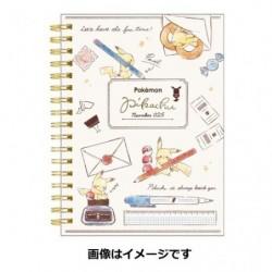 A6 Book Note Pokemon Pikachu japan plush