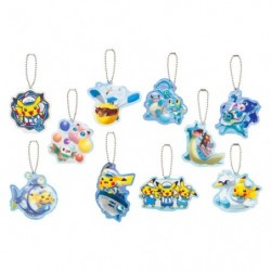 Keychain Pokemon Center Yokohama Collection japan plush