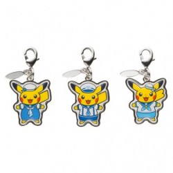 Metal Keychain Set Pokemon Center Yokohama japan plush