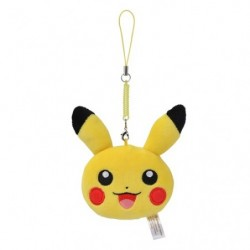 Strap Face Pikachu japan plush