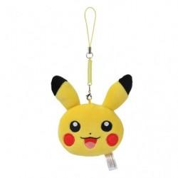 Strap Face Pikachu japan plush
