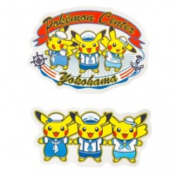 Stickers Pokemon Center Yokohama japan plush