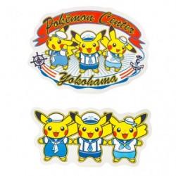 Stickers Pokemon Center Yokohama japan plush