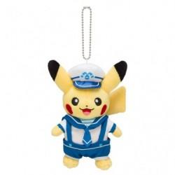Keychain Plush Pikachu Marinaio Capitano Yokohama