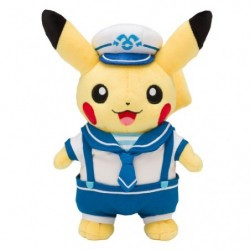 Peluche Pikachu Marin Capitaine Yokohama japan plush