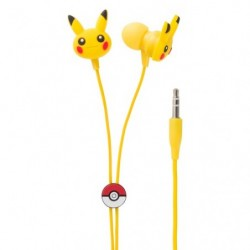 Stereo Earphone Pikachu japan plush