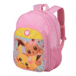 Bagpack Pikachu Eevee Flower japan plush