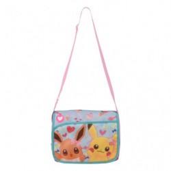 Shoulder Bag Eevee Pikachu Flower japan plush