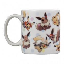 Mug Tasse Evoli Pikachu japan plush