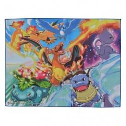 Serviette Kanto Region Pokemon japan plush