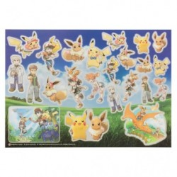 Seal Pokemon Let's Go Eevee Pikachu japan plush