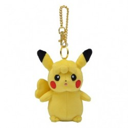 Keychain Plush Pikachu Female japan plush