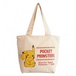 Bag Pikachu Logo japan plush