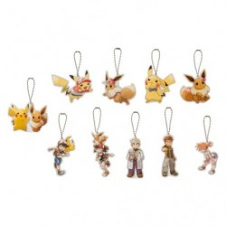 Keychain Pikachu Eevee Collection japan plush
