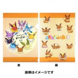 Clear File Project Eevee japan plush