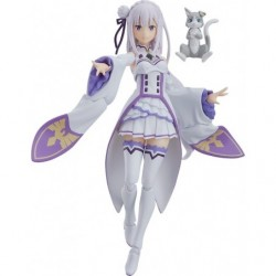 figma Emilia Re:ZERO -Starting Life in Another World- japan plush