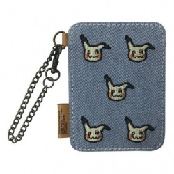 Denim IC card case Mimikyu japan plush