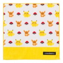 Serviette Toilette Pokémon Lets Go Jaune japan plush
