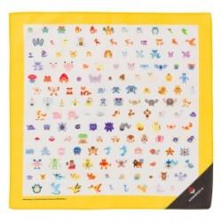 Mouchoir Pokémon Lets Go Jaune japan plush