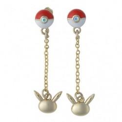Eevee Pokéball Earring japan plush