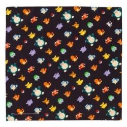 Lunch Towel Pokemon Black japan plush