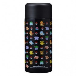 Stainless Bouteille Pokemon Black japan plush