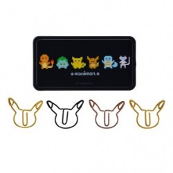 Clip Case Pokemon Black japan plush