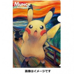 Clear File Pikachu japan plush
