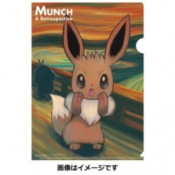 Clear File Eevee japan plush