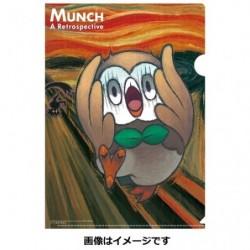 Clear File Rowlet japan plush