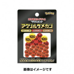 Pokemon TCG Japan Acrylic damage coin