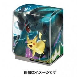 Deck Box Pokemon Pikachu Zekrom TAG TEAM GX japan plush