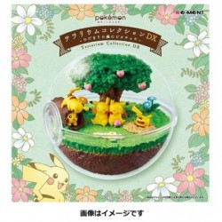 Terrarium Pikachu Hidamari Forest japan plush