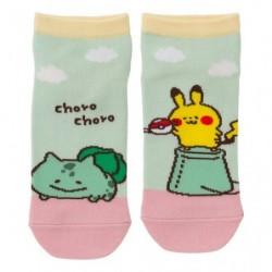 Short Socks Bulbasaur Pikachu Pokémon Yurutto japan plush