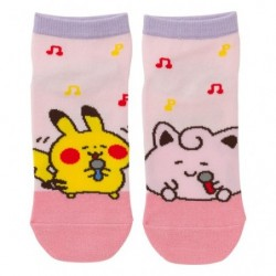 Short Socks Jigglypuff Pikachu Pokémon Yurutto japan plush