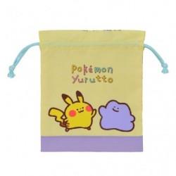 Purse Pikachu Ditto Pokémon Yurutto japan plush