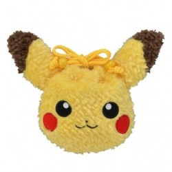 Drawstring Bag Pikachu Plush japan plush