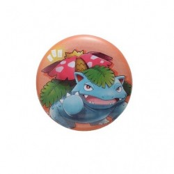 Badge Venusaur with YOU japan plush