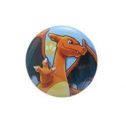 Badge Charizard with YOU japan plush