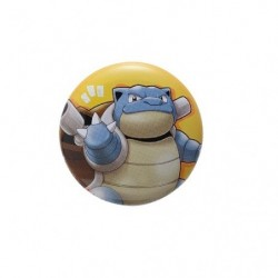 Badge Blastoise with YOU japan plush