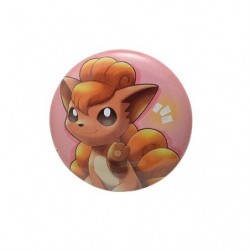 Badge Vulpix with YOU japan plush