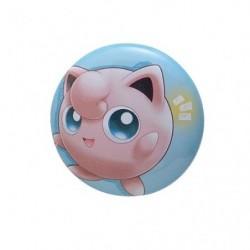 Badge Jigglypuff with YOU japan plush