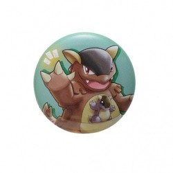 Badge Kangaskhan with YOU japan plush