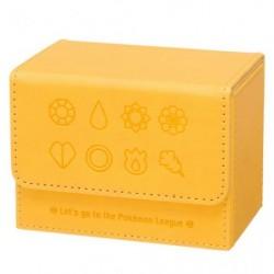 Deck Case Pokémon Badges Yellow japan plush