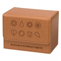 Deck Case Pokémon Badges Brown japan plush
