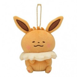 Plush Eevee Pokémon Yurutto Keychain japan plush